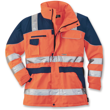 Warnschutzparka Safety Plus orange